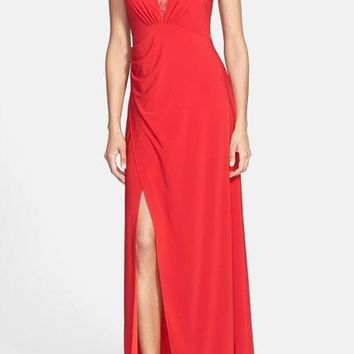 Adrianna Papell Formal Long Dress Evening Gown