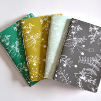 Illustrated Pocket Journal | Hand Illustrated Floral Notebook : The Saturday Collection