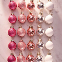 Assorted Mini Ball Christmas Ornament - Set Of 25 | Urban Outfitters
