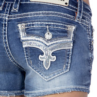 Rock Revival Sequin Ena H9 Shorts