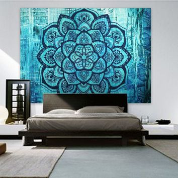 Wall Tapestries  Indian  Mandala Tapestry