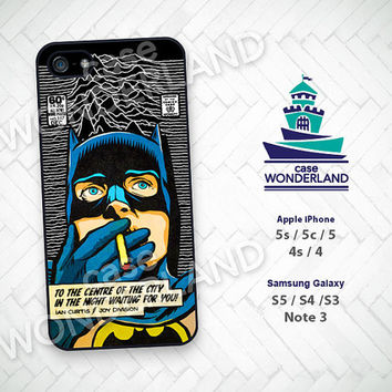 iPhone Case, Batman, Joy Division, Superhero, iPhone 5 case, iPhone 5C Case, iPhone 5S case, iPhone 4 Case, iPhone 4S Case, Phone Skin, BM05