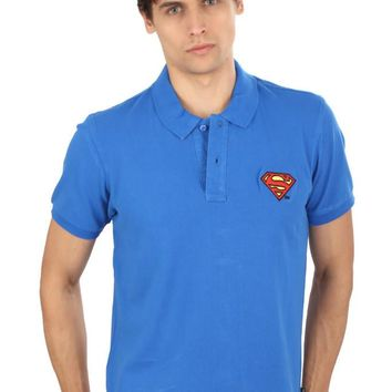 Superman Logo Polo T-Shirt
