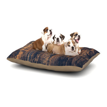 "Susan Sanders ""Barn Floor"" Rustic Dog Bed"