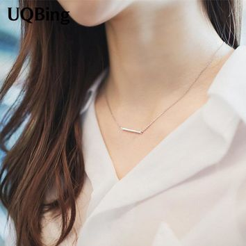 Hot Sale 925 Sterling Silver Chain Necklaces Sterling Silver 925 Necklace Jewelry Collar Colar de Plata