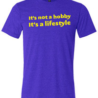 It's Not A Hobby It's A Lifestyle Shirt - Crossfit Shirt - Workout Shirt