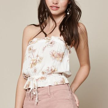 LA Hearts Tie Waist Tube Top at PacSun.com