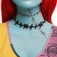 The Nightmare Before Christmas Sally Stitches Choker