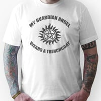 Supernatural Castiel Guardian Angel Unisex T-Shirt