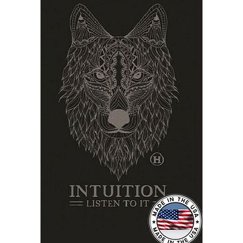 Hemp Blend T-shirt - Wolf, Intuition