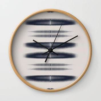 Almost Cozy glitch Wall Clock by duckyb