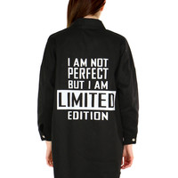I AM NOT PERFECT JACKET