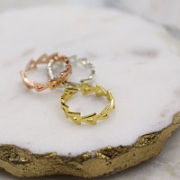 Triangle Knuckle Ring