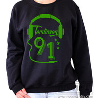 Tomlinson 91 Louis Sweatshirt Sweater Crew neck Shirt – Size S M L XL