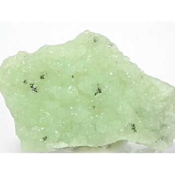 Green Prehnite Botryoidal Cutting Rough 2 good sides New Jersey Free US Shipping