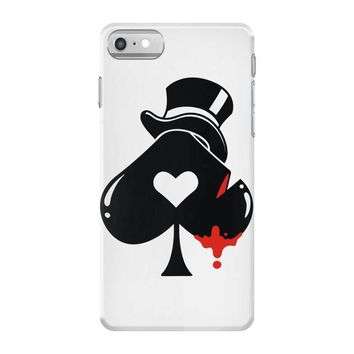 poker hat ace of spades iPhone 7 Case