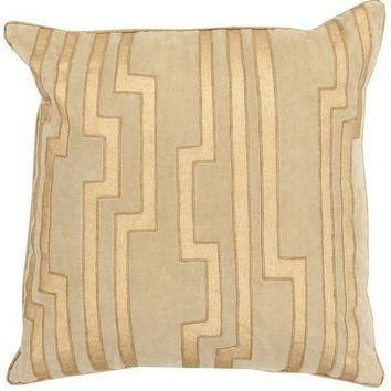 Medina Gold Velvet Pillow