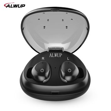 Mini in ear Wireless earphone Bluetooth Sports Dual Earbuds