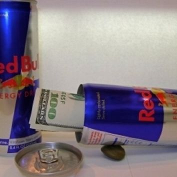 New Red Bull Top Secret Diversion Stash Portable Personal Security Safe Can Secret Compartment