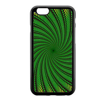 Psychedelic Spiral Glass iPhone 6 Case