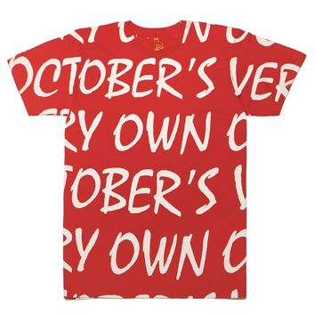OVO Stripe Shortsleeve T-Shirt | October's Very Own