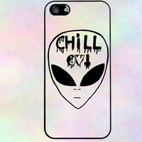 Chill Out Alien Iphone 5 case