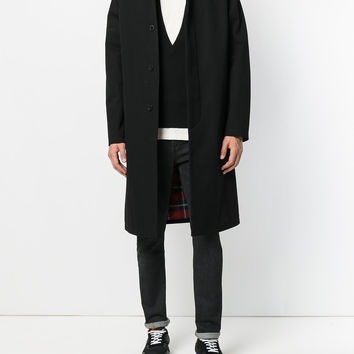 Givenchy Zip Collar Coat - Farfetch