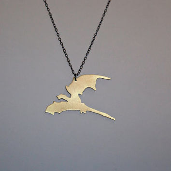 Dragon Necklace; Game of Thrones Jewelry; Drogon Pendant; Daenerys Targaryen Necklace
