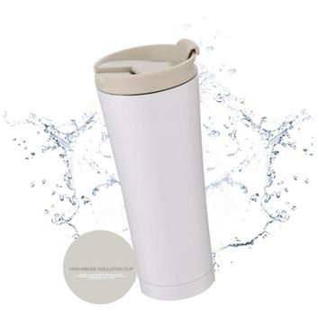 500ml Car Coffee Mug Double Wall Stainless Steel Insulated Vacuum Thermos Cup Travel Tea Water Thermal Bottle Tumbler Thermocup