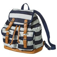 Mossimo Supply Co. Varsity Stripe Backpack - Blue/Gray