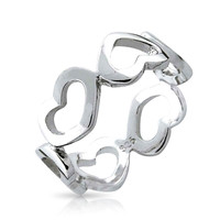 Bling Jewelry Open Your Heart Ring