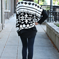 Coveted Cocoon Tribal Cardigan