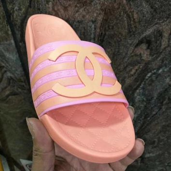 Chanel Women Fashion Casual Slipper Flats Shoes