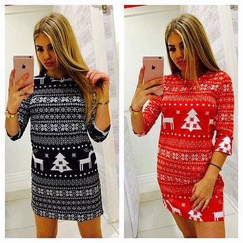 Amber Sweater Dress - Women Autumn Winter Long Sleeve Knit Bodycon Sweater Mini Dress Knitwear