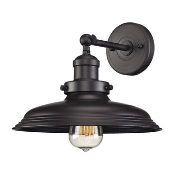 55040/1 Newberry 1 Light Wall Sconce In Oil Rubbed Bronze - Free Shipping!
