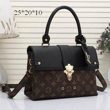 ONETOW Tagre? Day-First? LV Louis Vuitton Women Shopping Bag Leather Satchel Shoulder Bag Crossbody