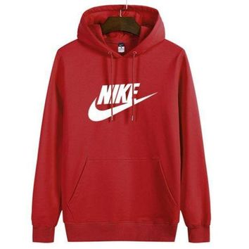 VXL8HQ Nike Women Man Fashion Print Sport Casual Top Sweater Pullover Hoodie
