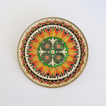 Best Decorative Brass Wall Plates Products on Wanelo  sc 1 st  Neobb.info & Attractive Ative Ceramic Wall Plates Ensign - Home Design Ideas and ...
