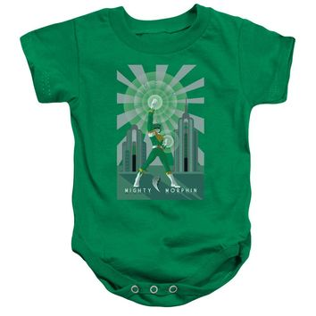 Power Rangers - Green Ranger Deco Infant Snapsuit