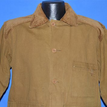 60s Coronet Water Repellent Khaki Hunting Jacket Large