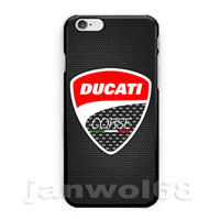 Ducati Corse Racing Motorcycle For iPhone 6s 6s+ 7 7+ Print On Hard Case