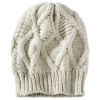 Mossimo® Textured Beanie Hat - Ivory
