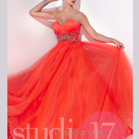Strapless Sweetheart Studio 17 Prom Ball Gown 12532