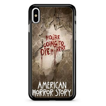 American Horror Story 2 iPhone X Case
