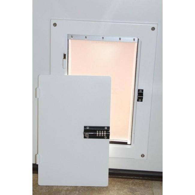 Watchdog Steel Security Pet Door Cover From Petdoors Com