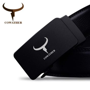 100% high grade cow genuine leather men belts