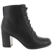 Timberland Earthkeepers Atlantic Lace Heights   Black Leather Lace Up Chukka Boot