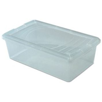Clear Plastic Box - Small Shoe