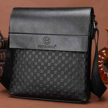 Men Casual Leather Messenger Bags
