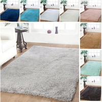 Plush Soft 5x8 Area Shag Floor Rugs Modern Home Living Room Decor